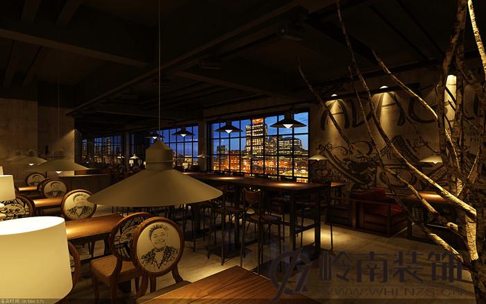 武汉餐厅装修设计案例效果图